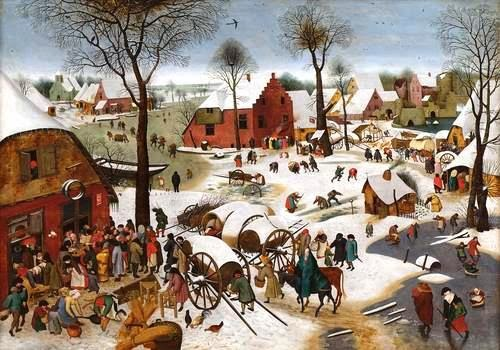 'The Census at Bethlehem' by Pieter Bruegel the Elder