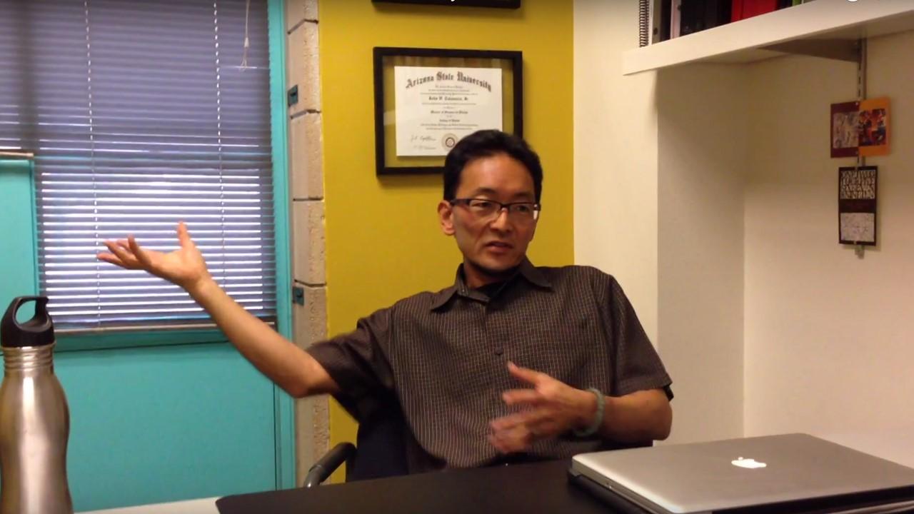 Professor John Takamura , Assistant Director and Associate Professor at Arizona State University School of Design