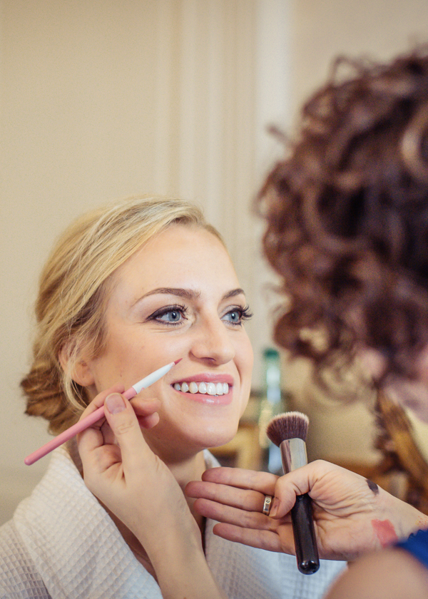 Our Services On the day - I take on a select number of weddings each year, and on the day I am able to look after your whole bridal party. Depending on the number of people requiring make-up services and the time of the ceremony, I can work on 6-8 people. If this needs to be done in a shorter time, or there are more than 8 people,I bring along another make-up artist chosen by you from a selection available.