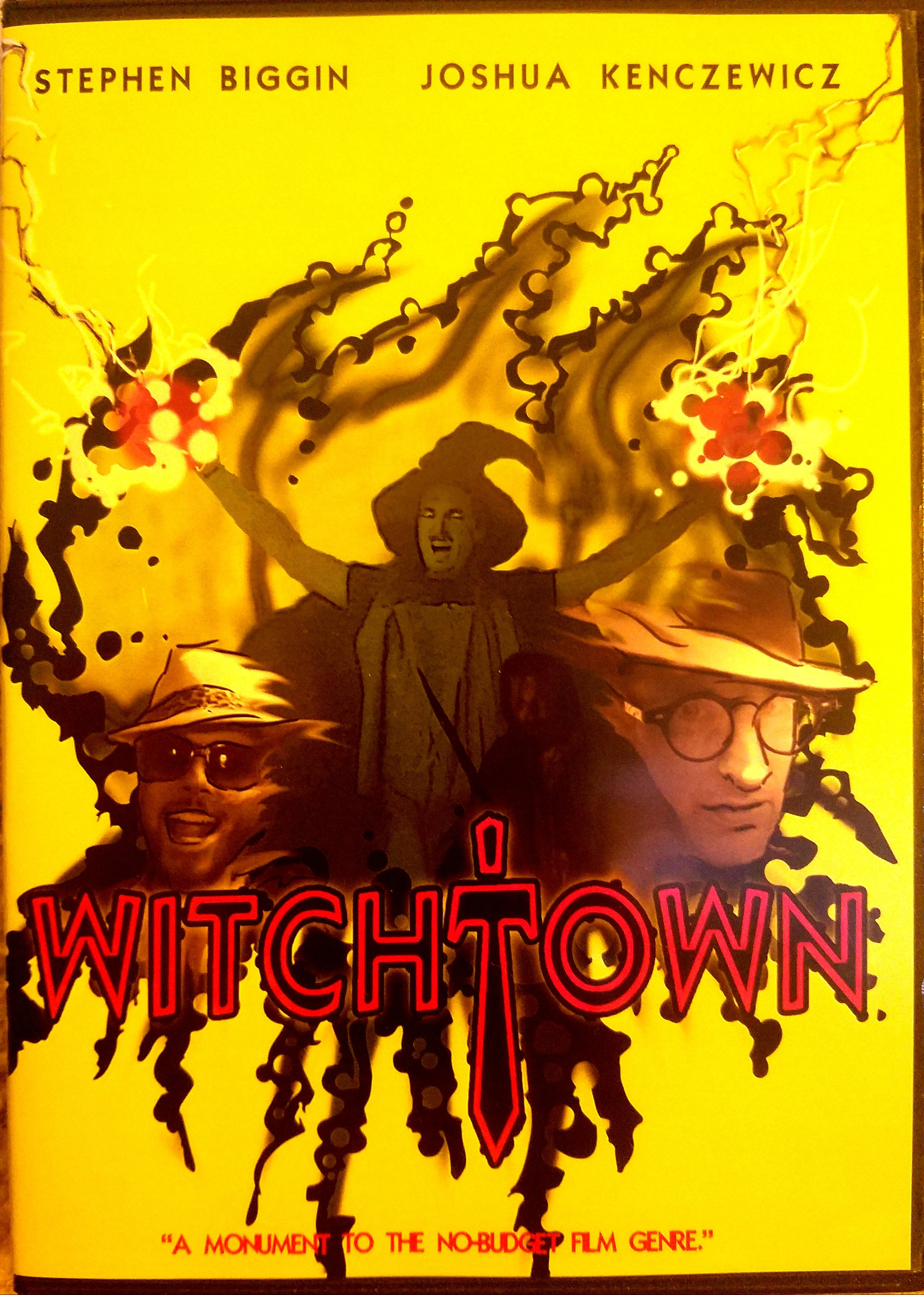 The beautiful disc art of WITCHTOWN -