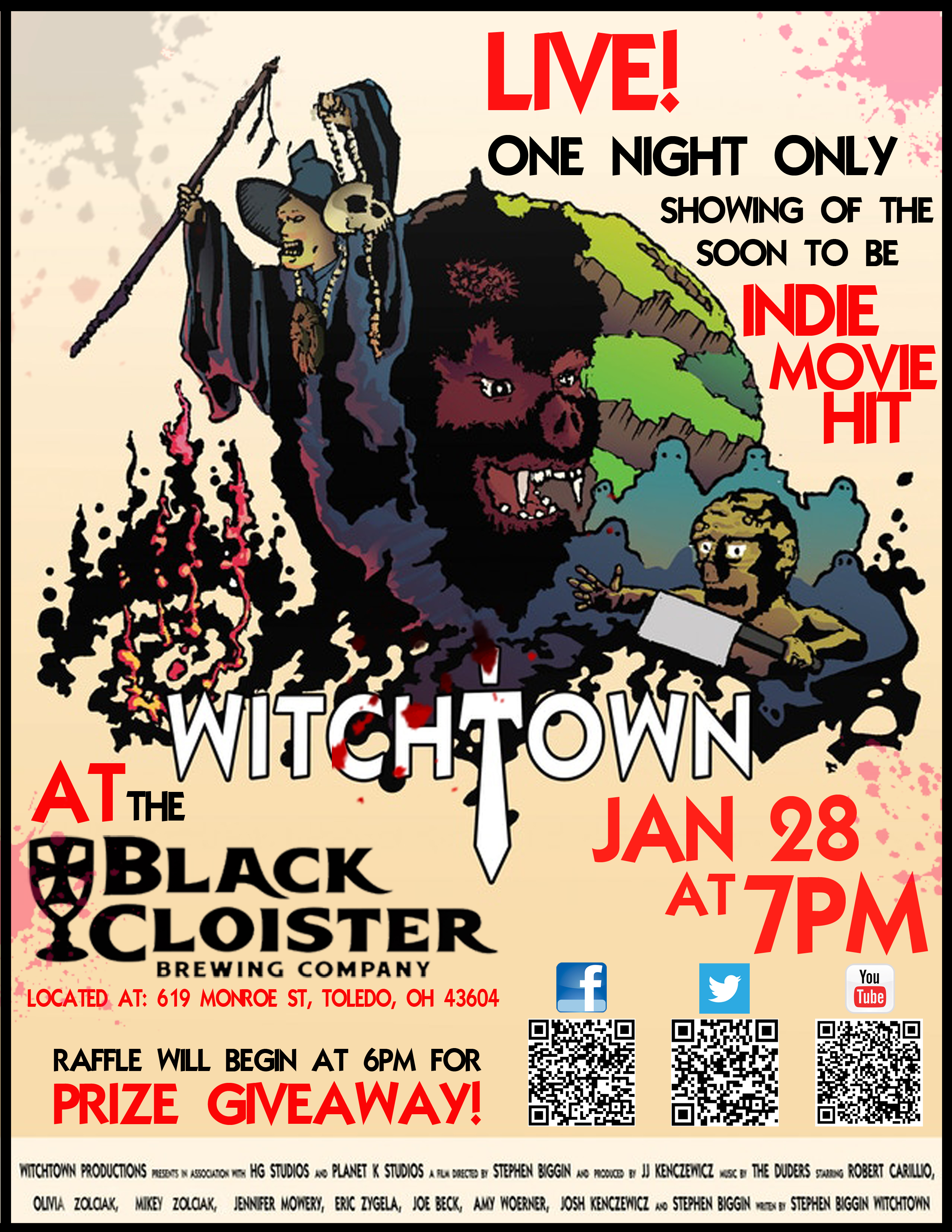 Witchtown Black Cloister Promo