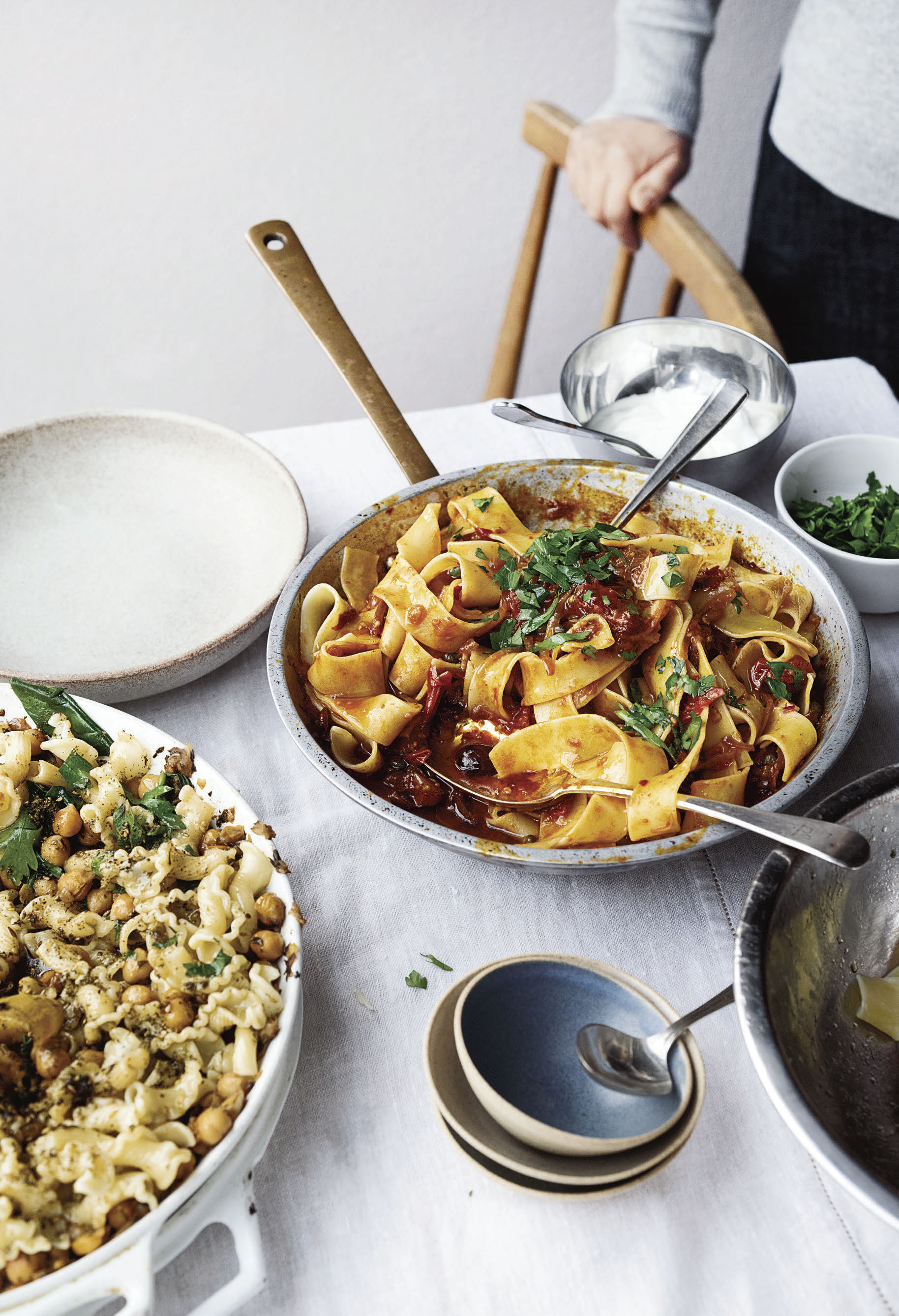 OTTOLENGHI SIMPLE_Pappardelle with Rose Harissa.jpg