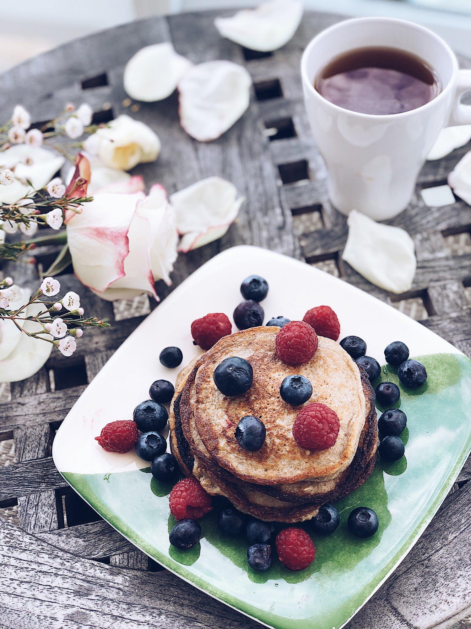 Healthy 3-ingredient Pancakes -