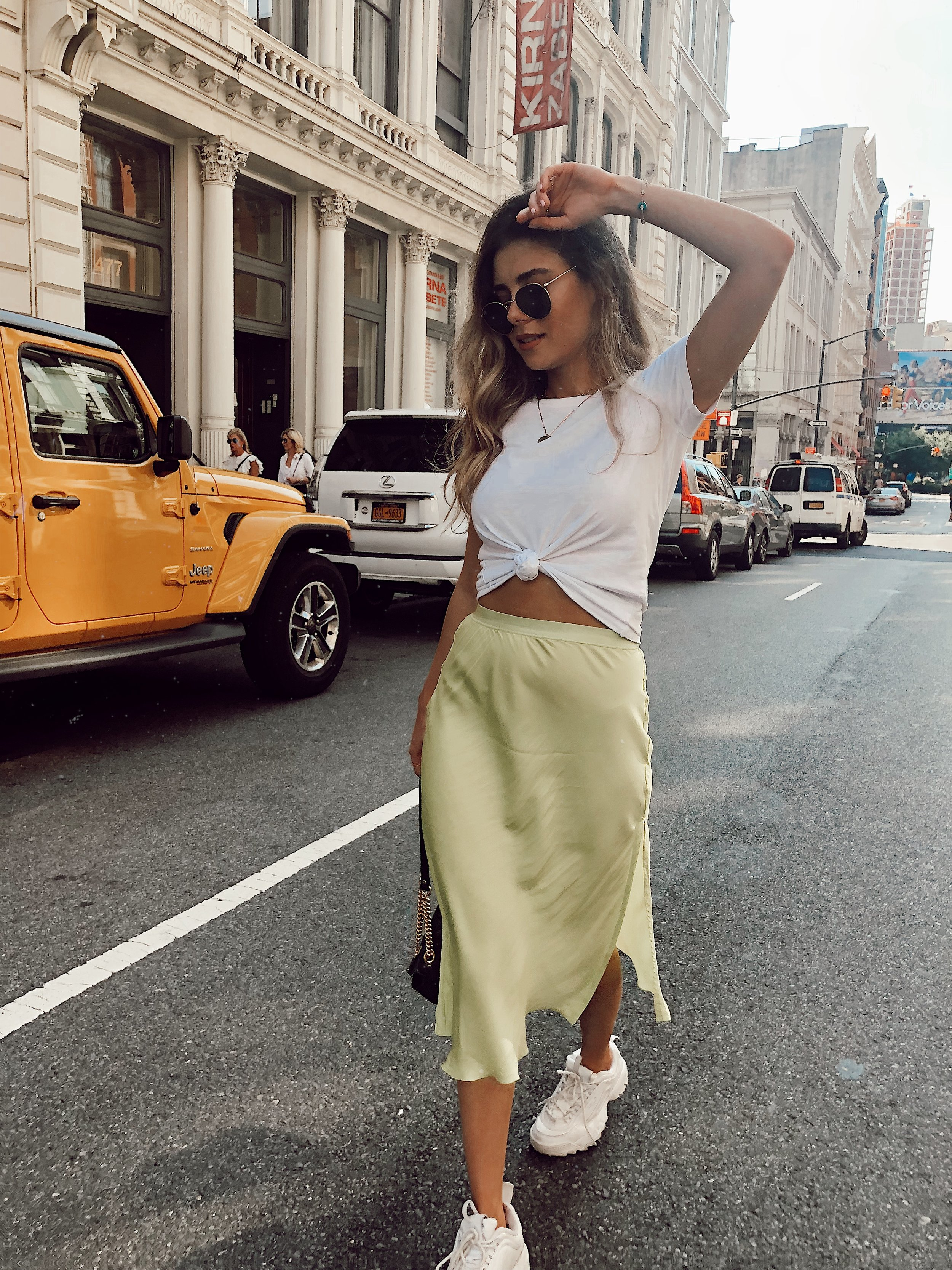 How To Style Slip Skirts -