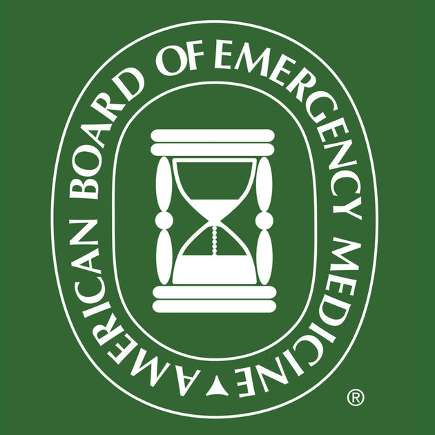 ABEM - Board Certified in Emergency Medicine