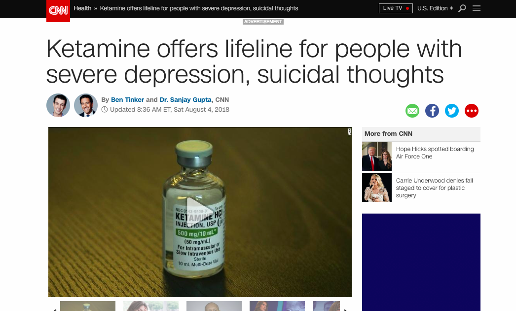 cnn ketamine suicide palm springs