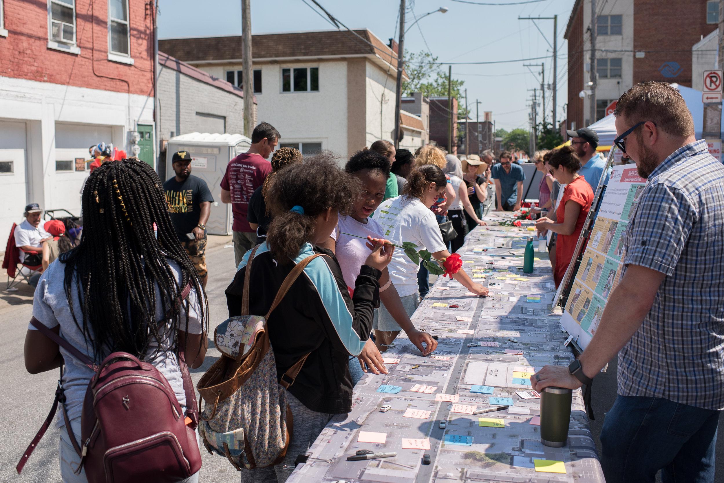Open Streets, Water Street Outreach - Sara Code Kroll