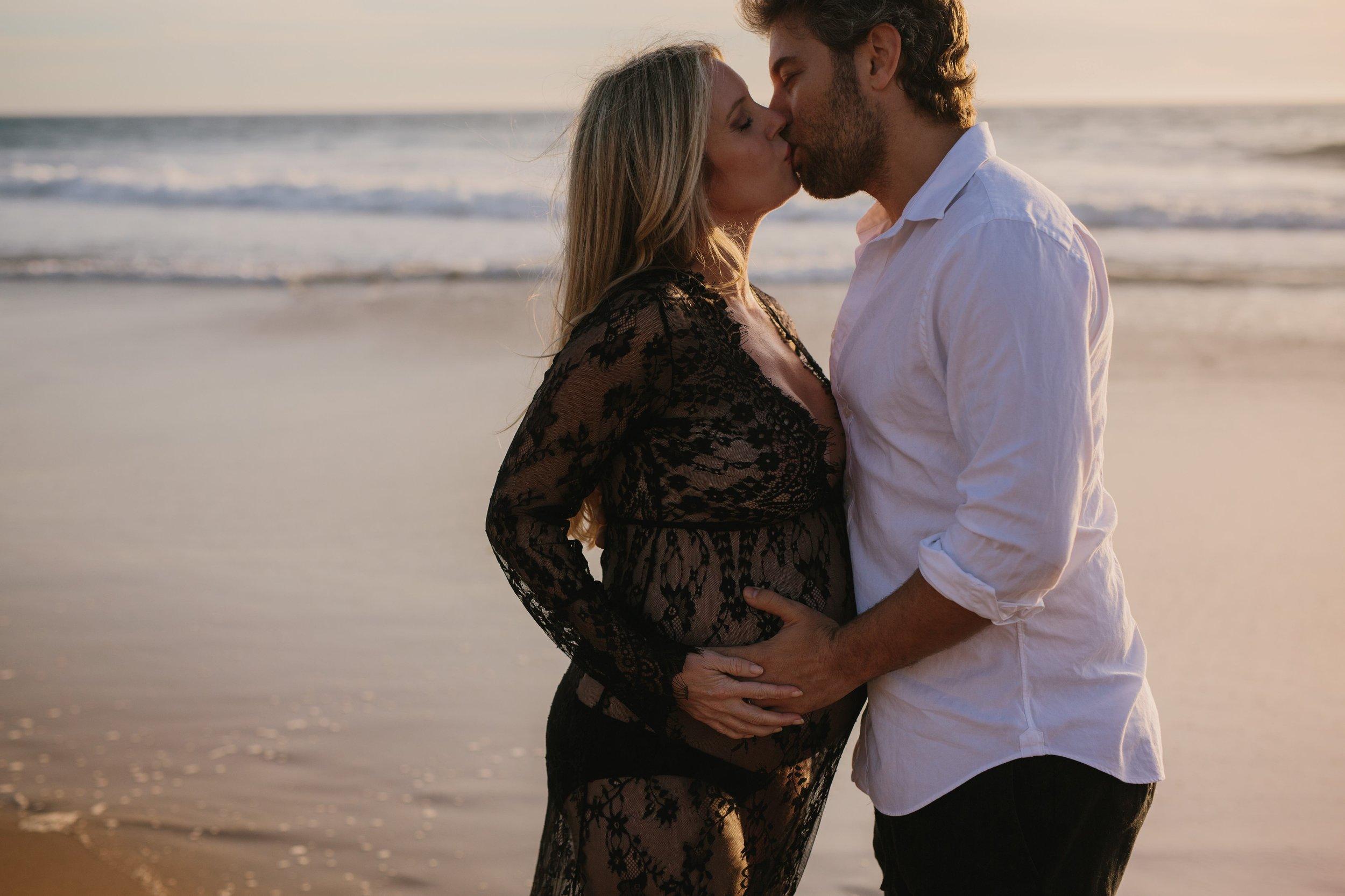 Zuma Beach Maternity © Abigail R Collins Photography