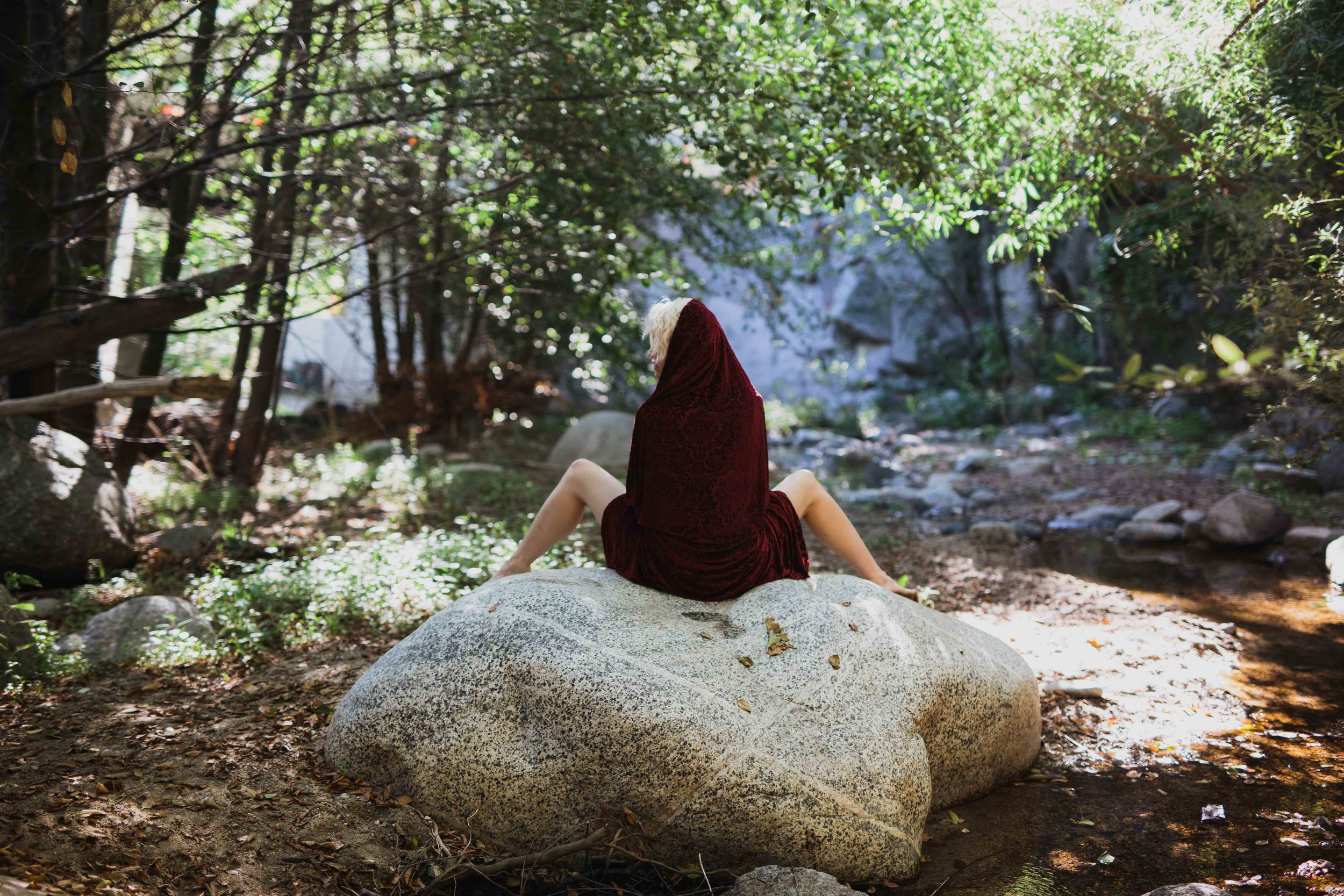 Angeles Forest Outdoor Boudoir © Abigail R Collins Photography