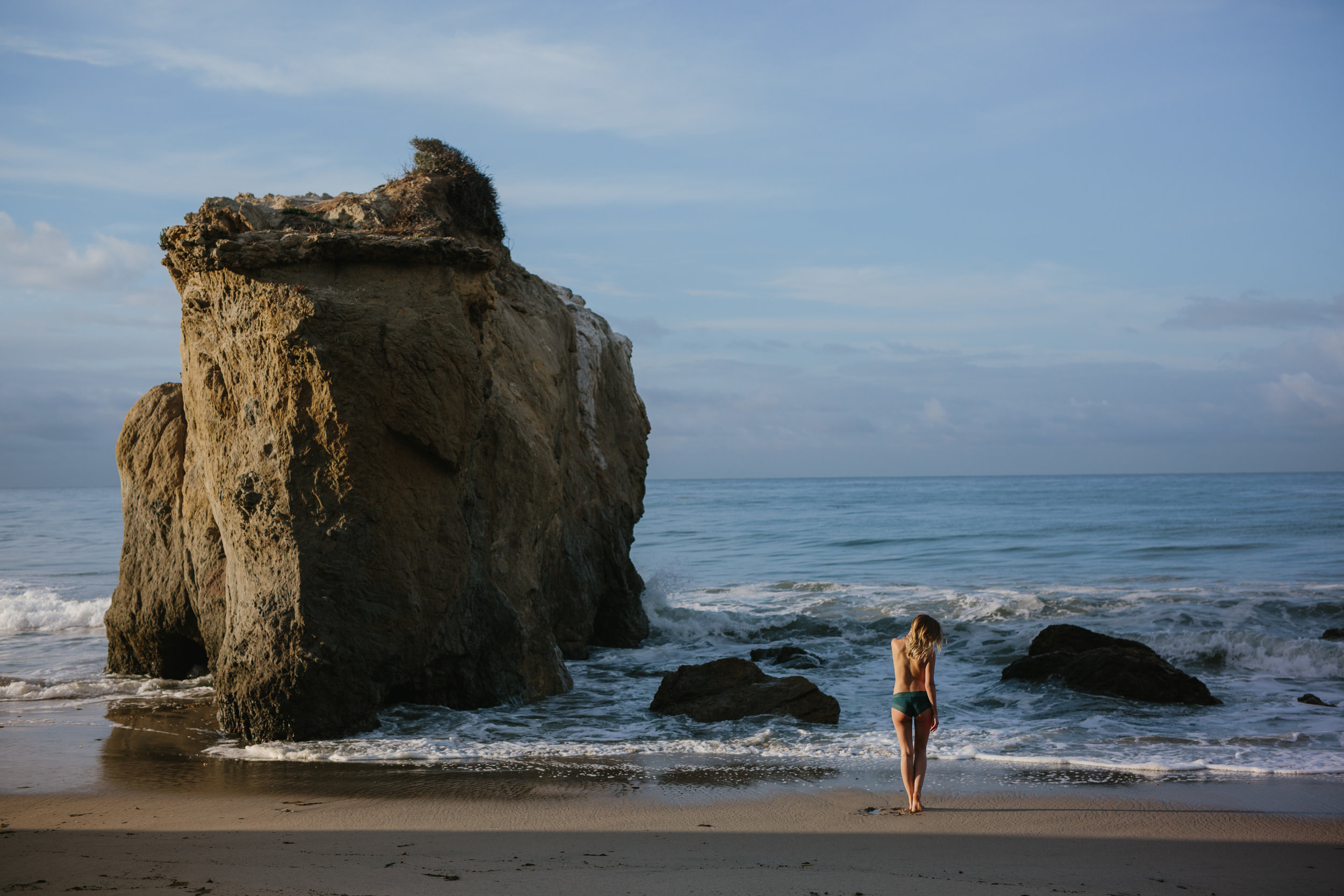 El Matador Beach Outdoor Boudoir © Abigail R Collins Photography
