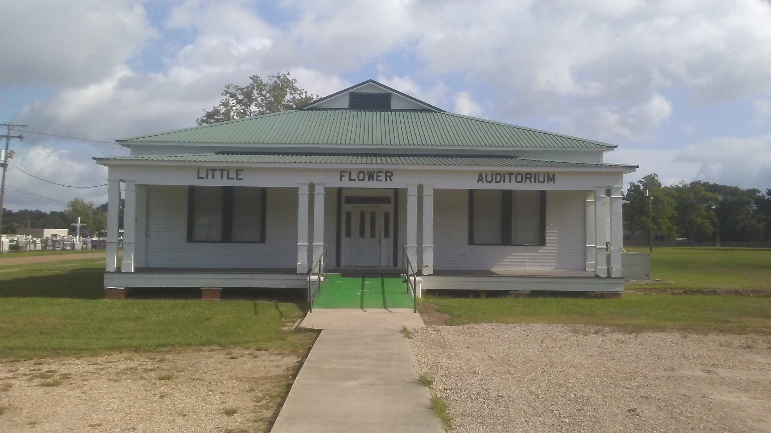 Little Flower Auditorium - Contact the Church Rectory for reservations.