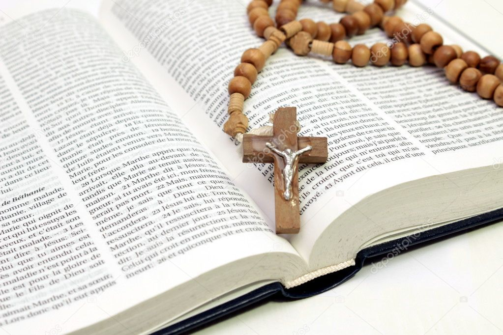 Pray the Rosary in French