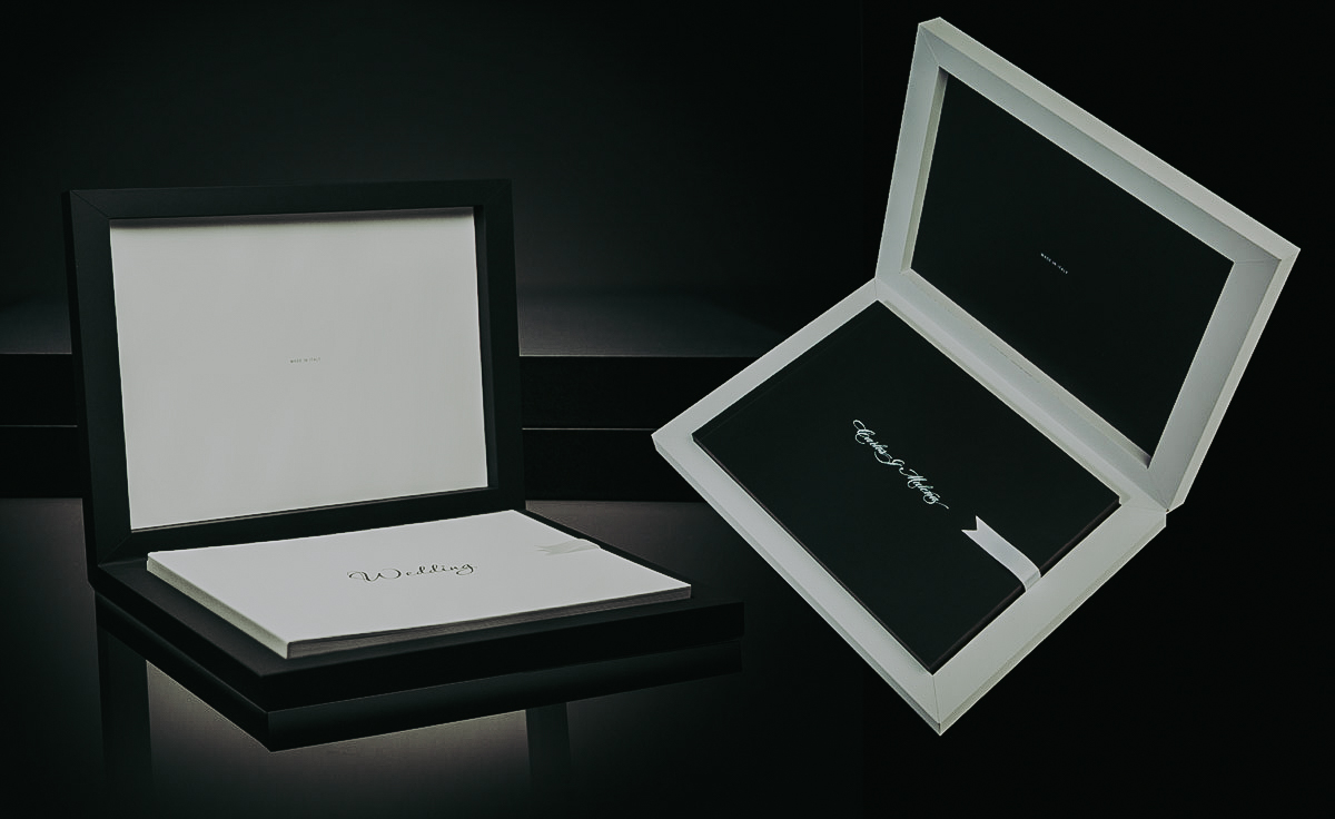 Wedding photo album - Wedding photo of the highest quality. Handmade in Italy.