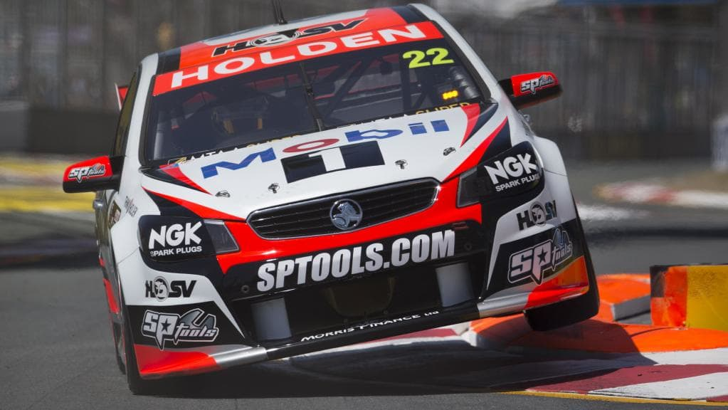 No discussion about kerbs is complete without V8 Supercars