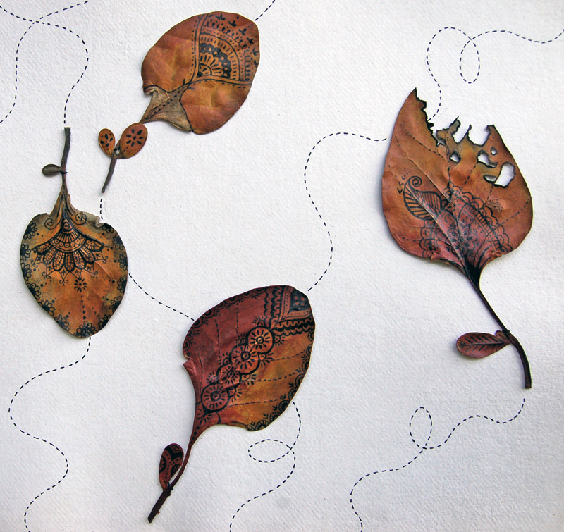 India - Banyan Leaves 2