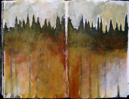 Cypress scape in my logbook