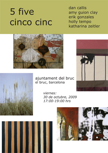 The poster/flyer for our exhibition