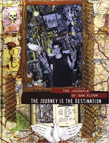 The Journey is the Destination: The Journals of Dan Eldon    Many of you may be familiar with the jammed packed journals of Dan Eldon, a young photo journalist and collage artist who passed away far too young in the field. The pages of his journals here show a young man bursting with life and ideas and adventures, combining photos, found objects, painting and writing.