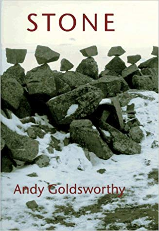 Stone By Andy Goldsworthy   It's hard to choose just one of Andy Goldsworthy's books, so I have several of them. This one focuses on his stone environmental sculptures. Because of the ephemeral nature of his outdoor installations, the photographs are mostly all that remain of his earthworks, although the stone sculptures have more of a shelf life than those made of twigs and leaves.