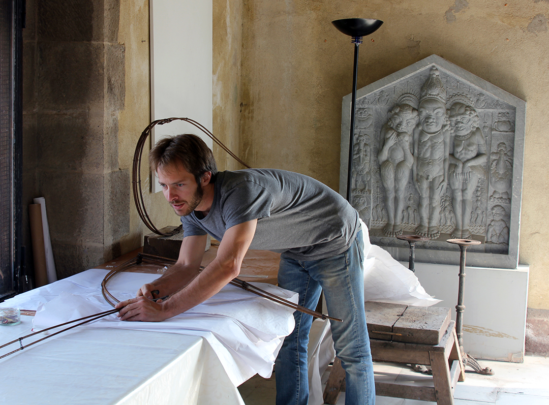 Will working as an artist-in-residence at La Napoule in the south of France.