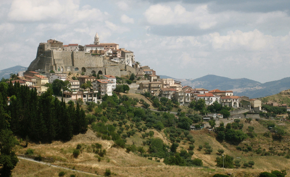 The village of Neopoli in southern Italy during my residency there in 2009.