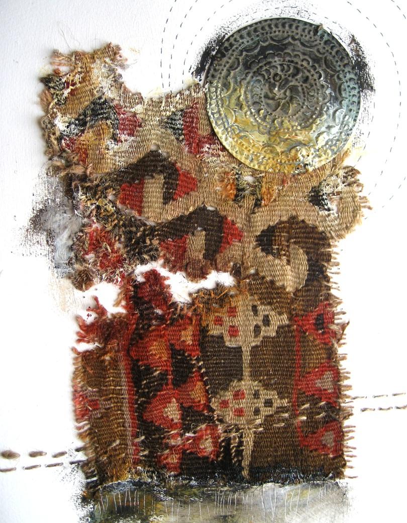 Turkey Kilim Collage ©Amy Guion Clay