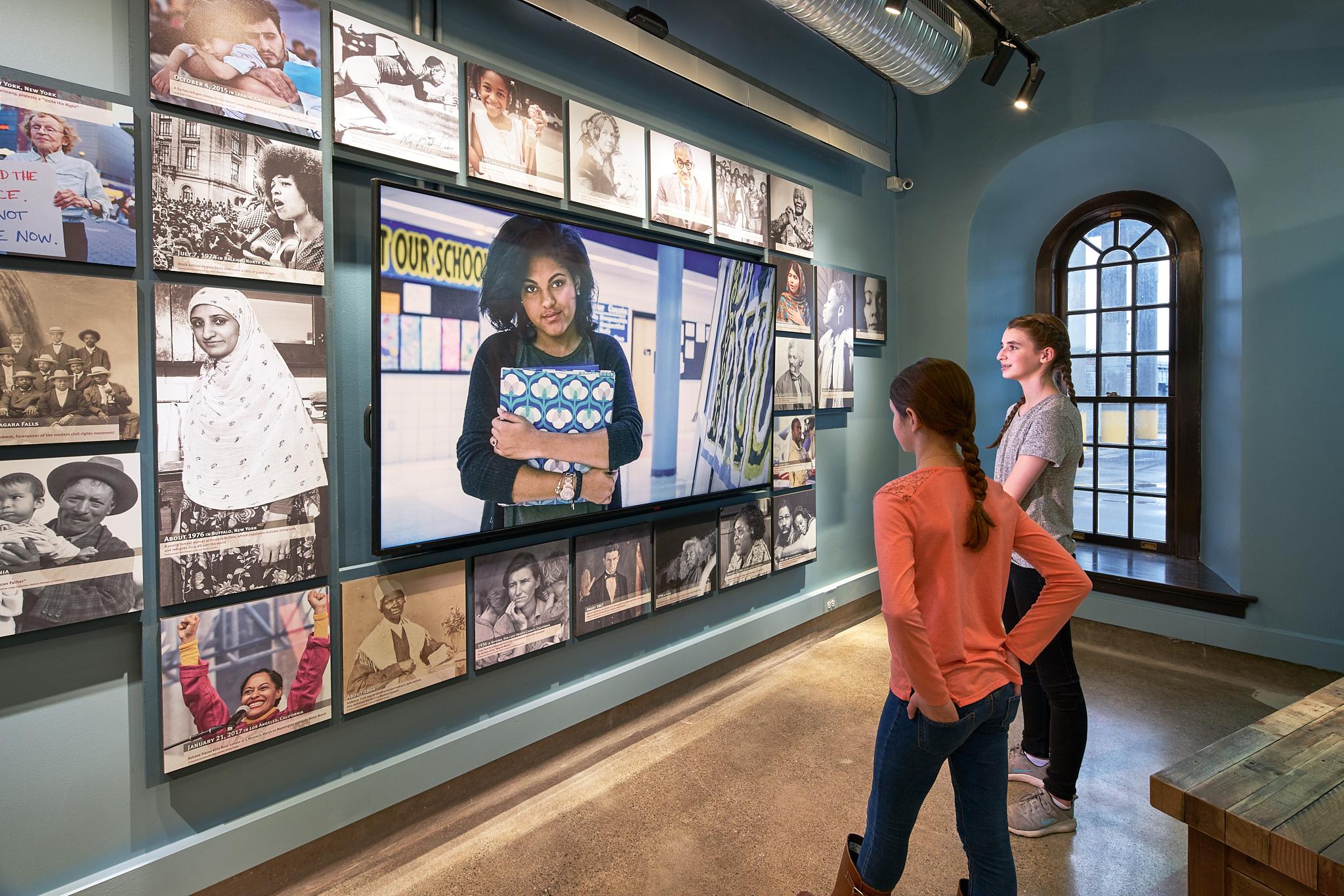 Niagara Falls Underground Railroad Heritage Center Freedom Gallery (Photo: Kim Smith)