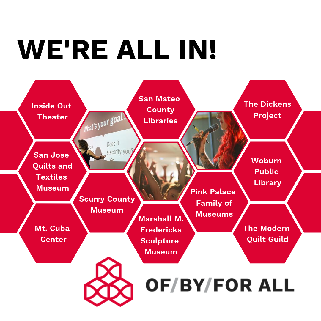 Ten bold organizations have joined the third wave of the OF/BY/FOR ALL Change Network.