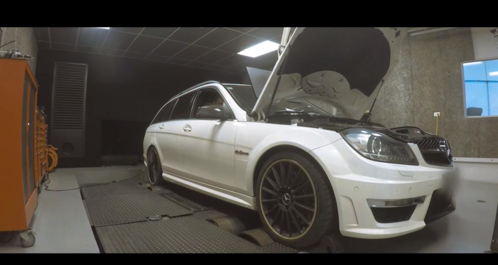 Mercedes-Benz C63 AMG- Dyno tune — Torque Performance - ECU Re