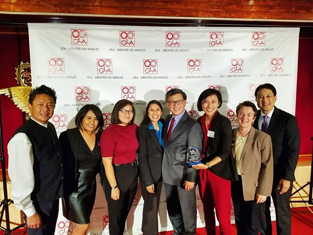 Thank you to OCA-GLA for honoring us with your Community Impact Award. We are thrilled to be honored alongside Thomas Wong, Amy Lew, and Mark Masaoka. We were proud to celebrate with founders, supporters, and new leaders, and look forward to continuing our work to ensure all API LGBTQ people can thrive!