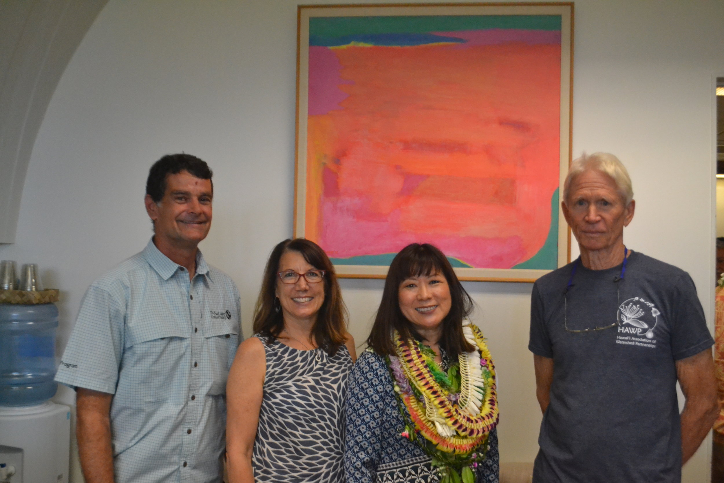 Hawaii Association of Watershed Partnerships Group Photo.JPG