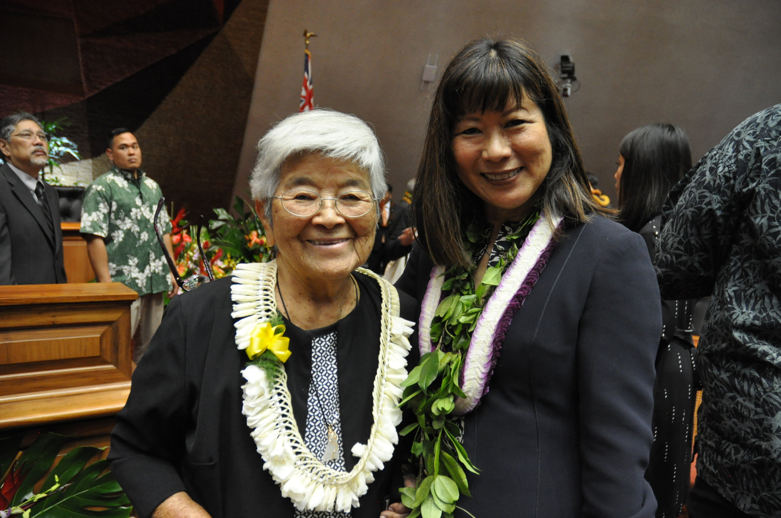 Opening Day Representative Nakamura with her Mom.jpg