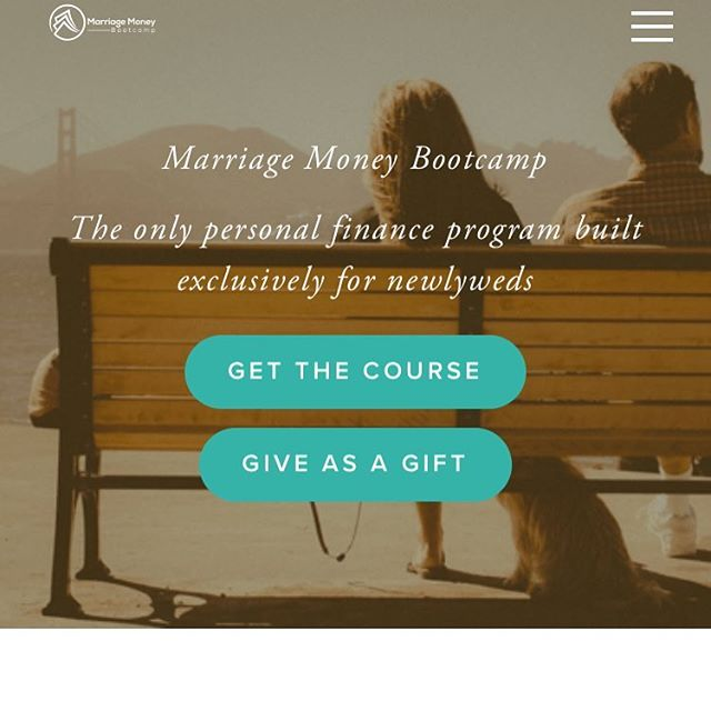 Marriage Money Bootcamp for Newlyweds is now live!