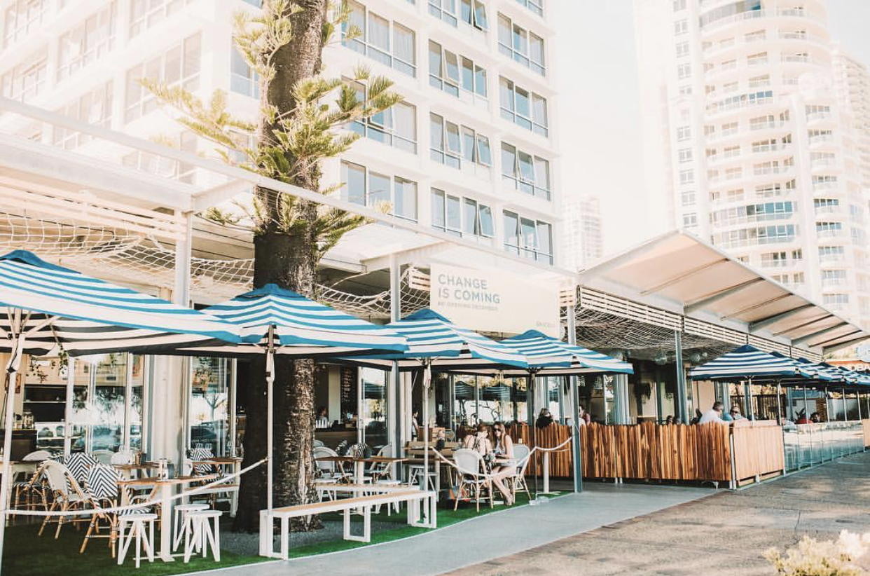 Sandbar Gold Coast - Now in business for 20 years, Sandbar has recently undergone a transformation that brings a slice of seaside sophistication to Surfers Paradise. The Sandbar boasts the Gold Coast's largest range of of beers - including Diablo of course!