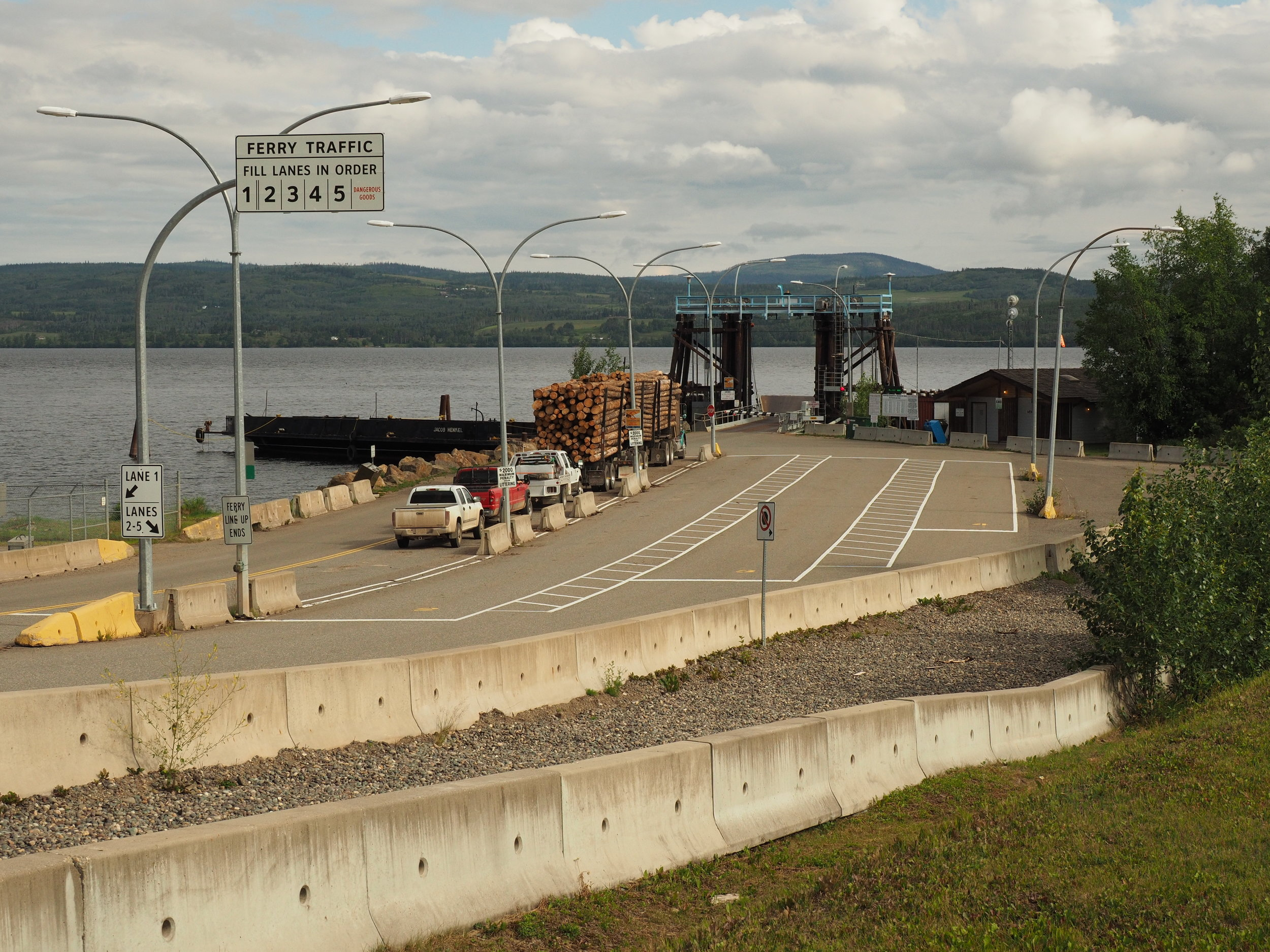 Ferry landing - Southside of Francois Lake