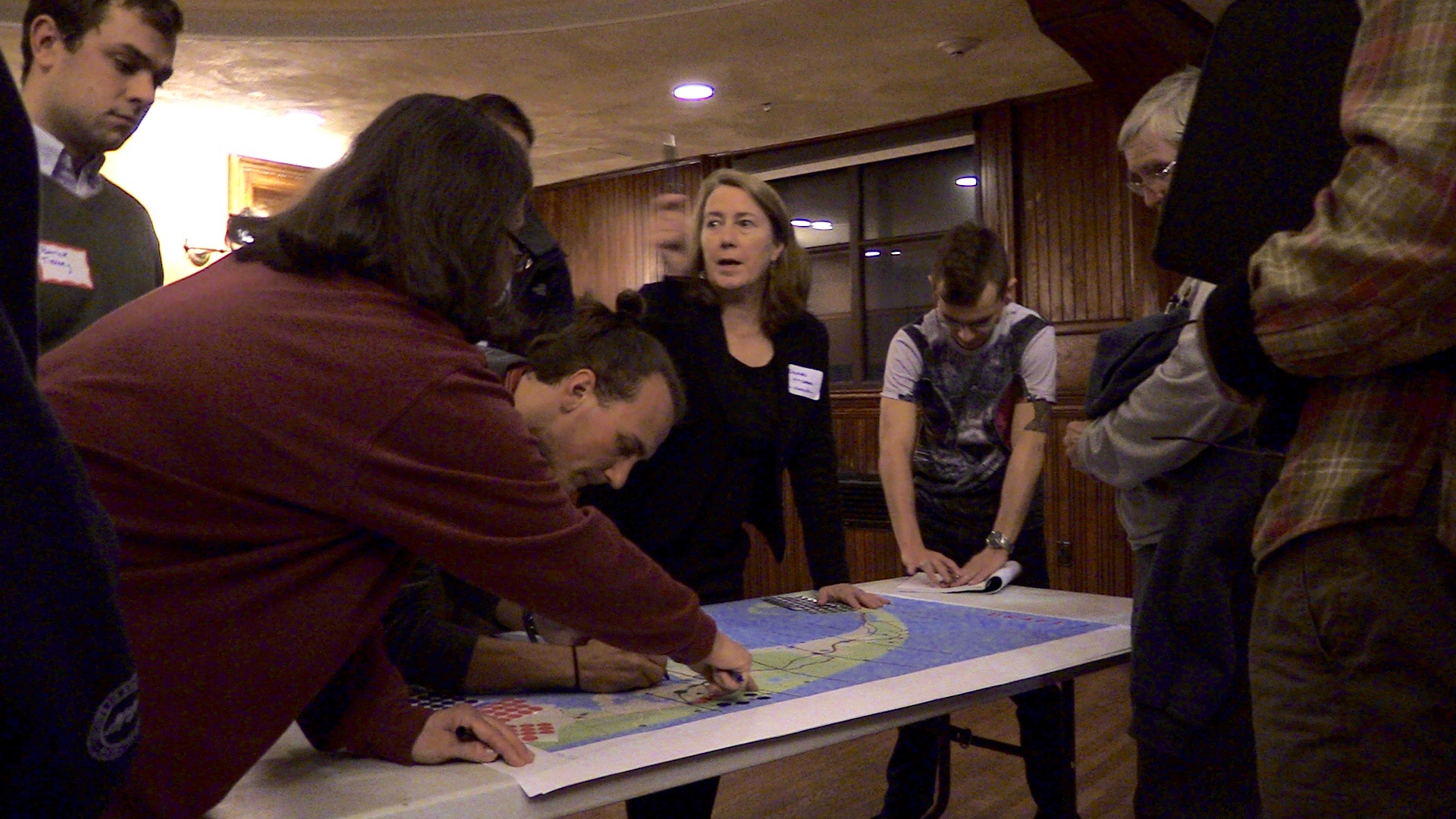 Participants at the 2015 Outer Cape Bicycle & Pedestrian Master Plan workshop in Provincetown.