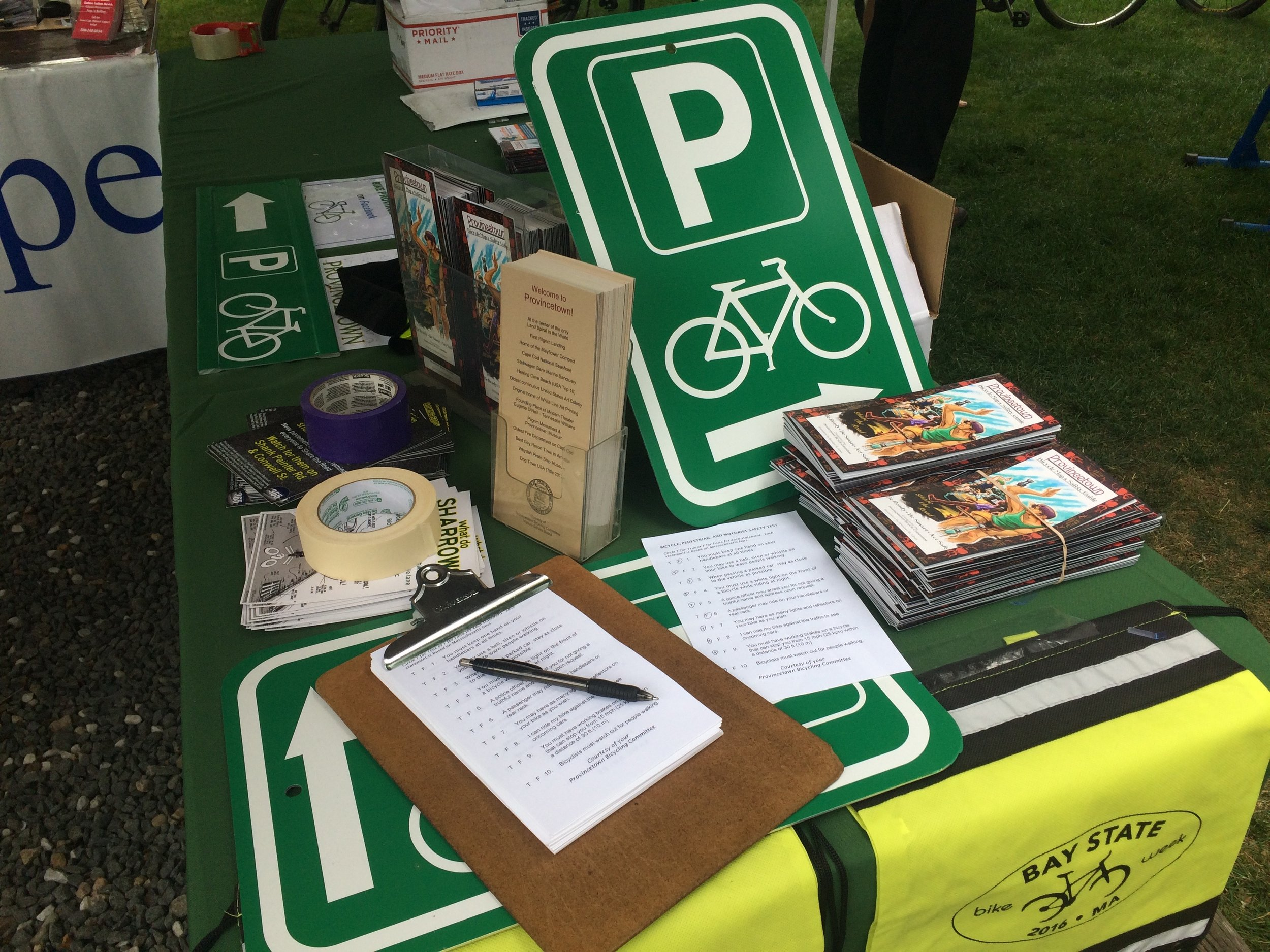 Information table at WorldFest.