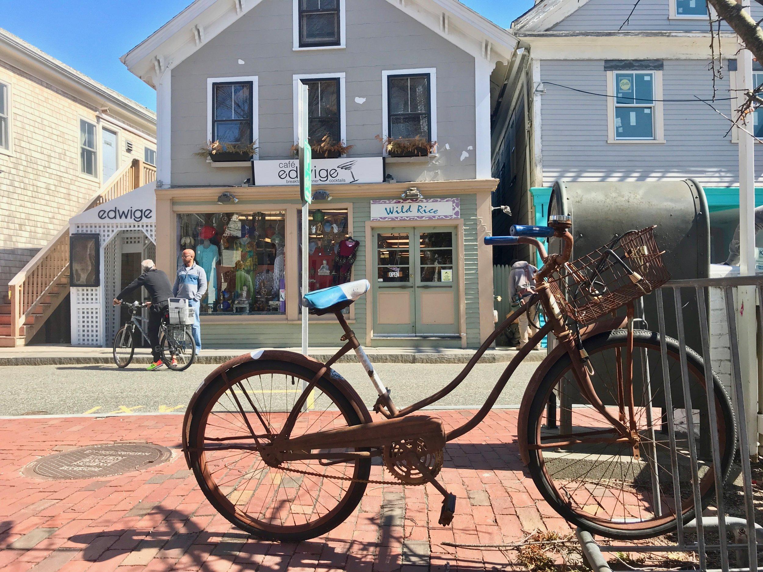 rusty bike sunny April day Provincetown.jpg