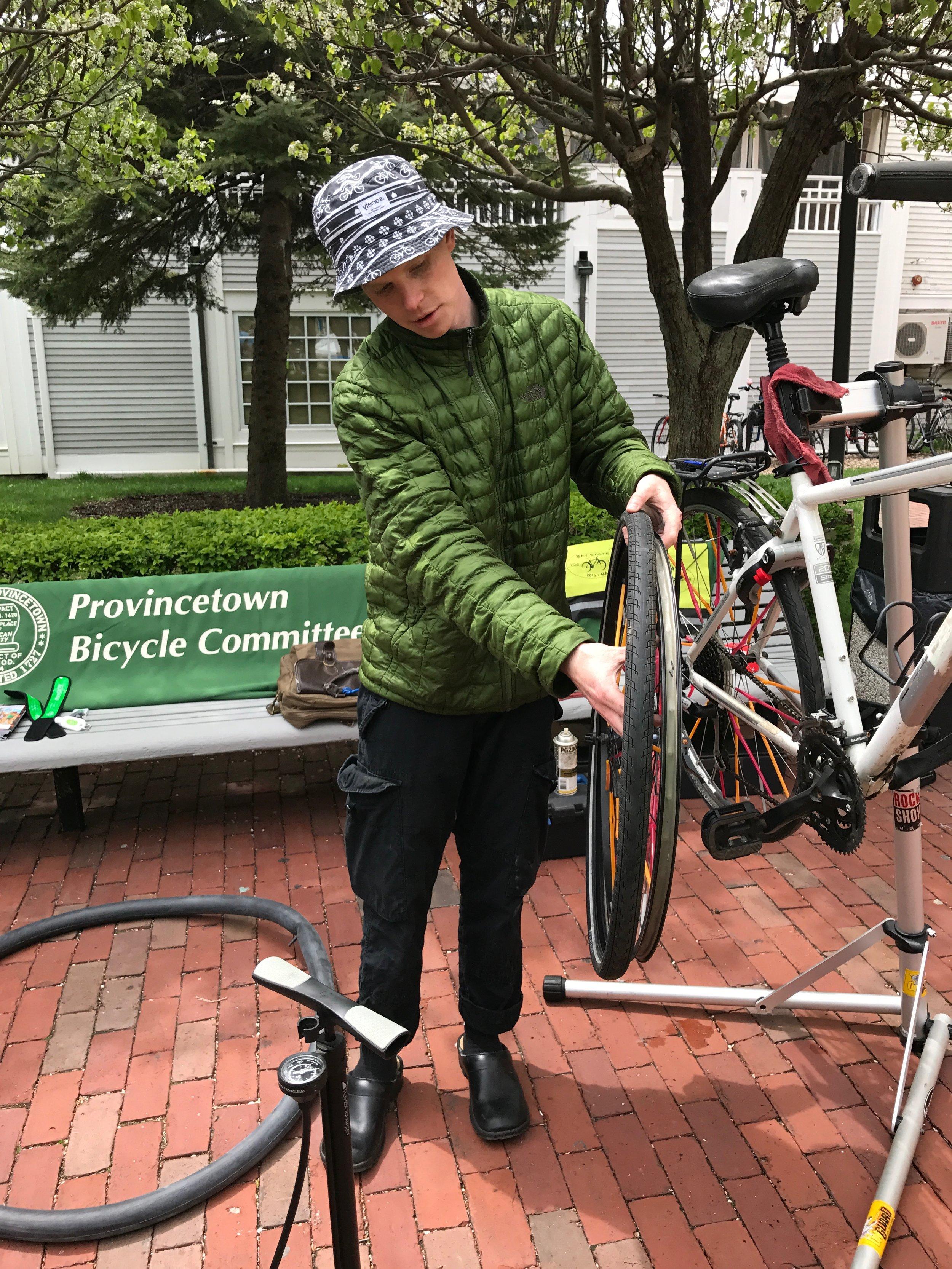 Provincetown Bike Month bike repair clinic.jpg
