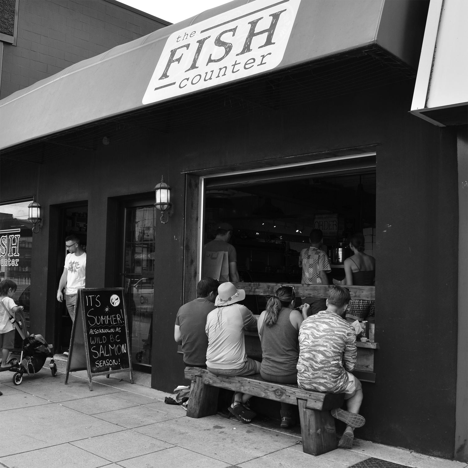 THE FISH COUNTER / FISH SHOP AND FAST FOOD   map