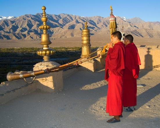 """Explore """"Little Tibet"""" - This two week pilgrimage offers an intensive immersion into Tibetan Buddhism in Ladakh aka """"Little Tibet"""". Survey ancient monasteries, meet traditional healers, oracles and monks, receive powerful teachings from a revered lama and settle into a retreat in a remote village in the high Himalayas."""