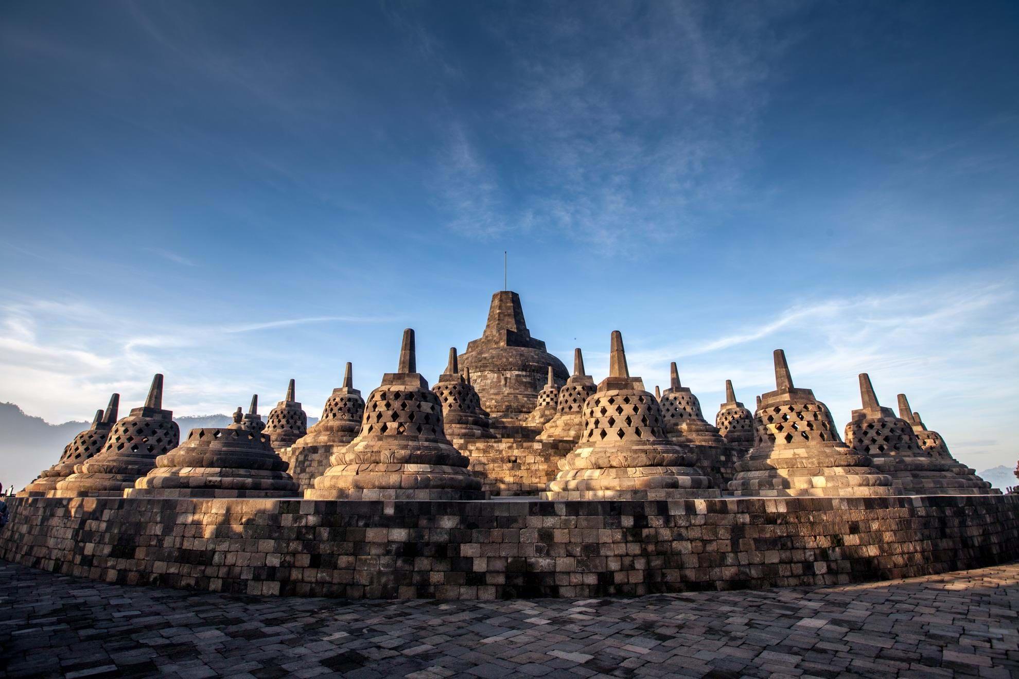 Borobudur, Java -