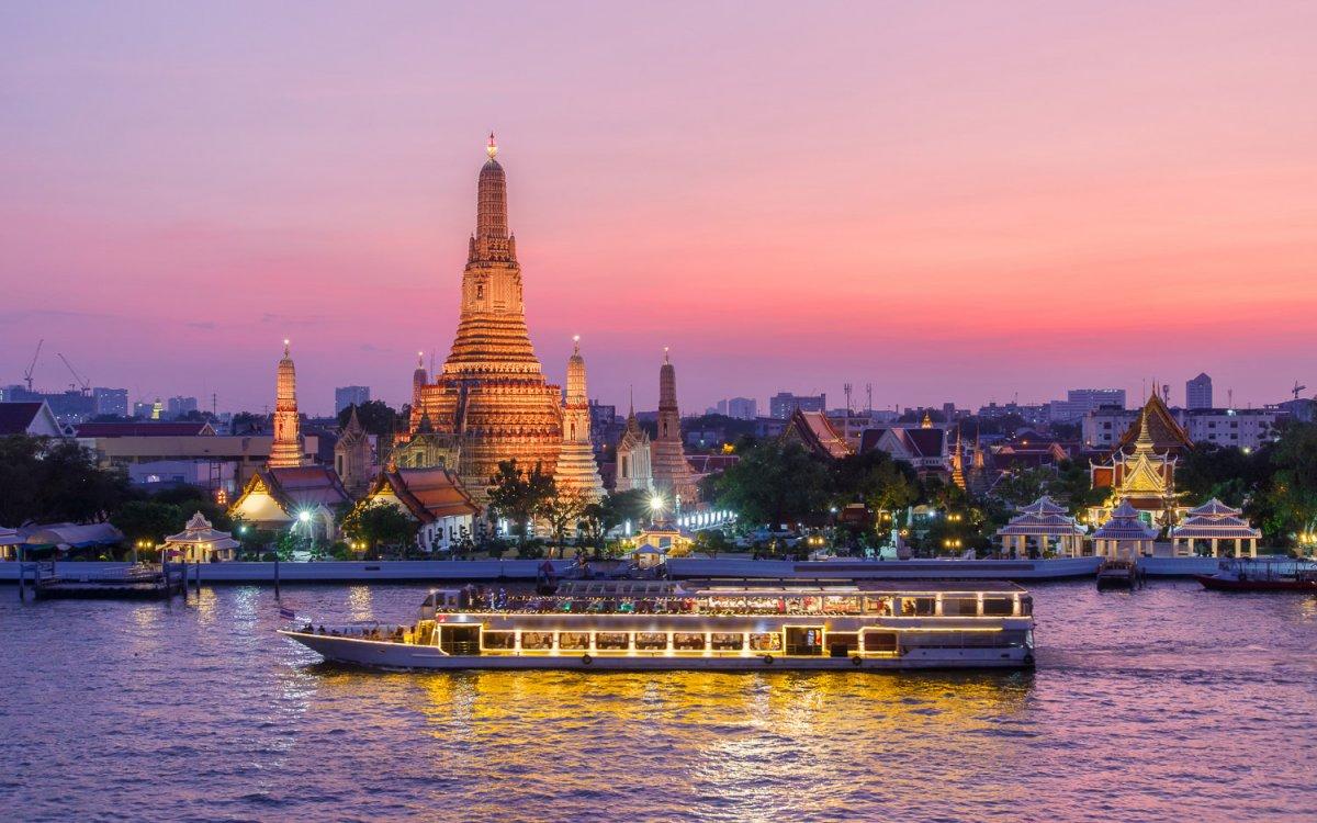 Temples of Bangkok, Thailand -