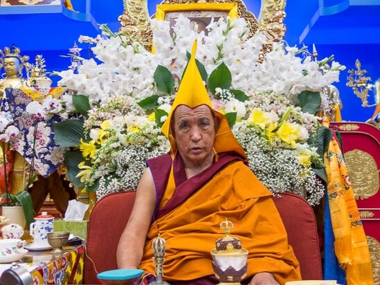 Auspicious Teachings - Our journey coincides with the auspicious teachings of the 104th Ganden Tripa, H.E. Tri Rinpoche, head of the Gelugpa order of Tibetan Buddhism. Over the course of several days we will receive transmission of the Three Principal Paths and the Yamataka initiation.