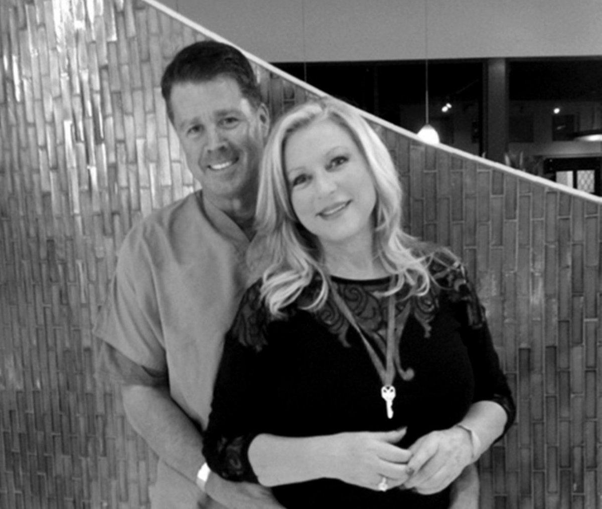 Debra and John