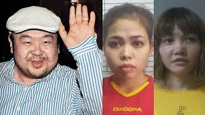 Kim Jong-nam, Siti Aisyah, and Doan Thi Huong