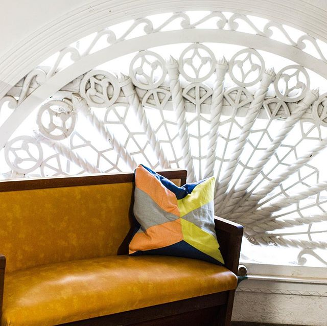 Best seat in the house 🙌🏻 . . #bunbury #swaustralia #interior #interiordesign #couch #window #photography #photooftheday #coworking