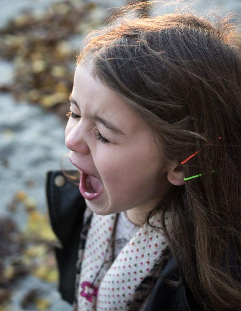 Child Throwing Temper Tantrum in Charlotte NC