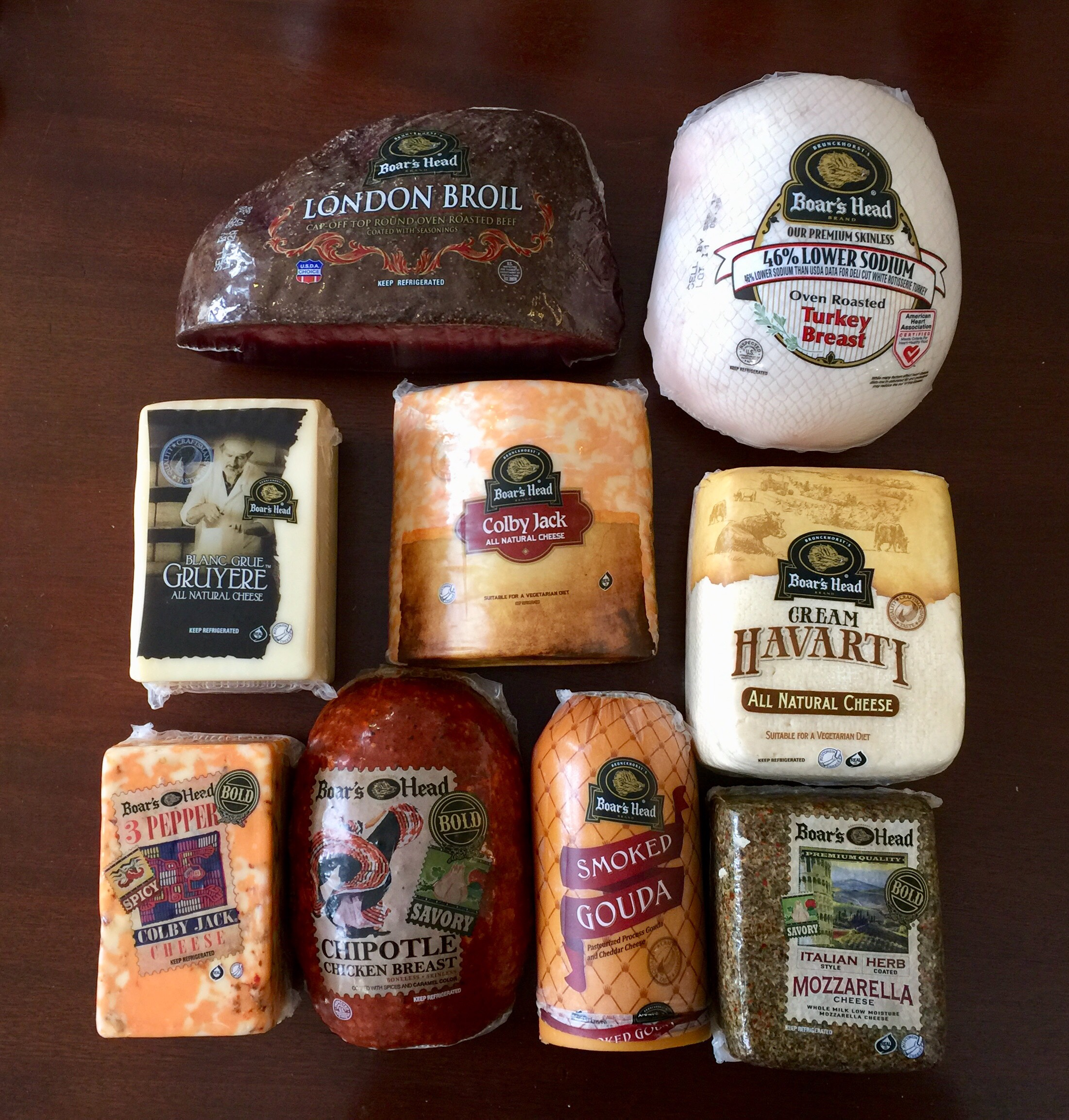 boar's head meats and cheeses - urban deli