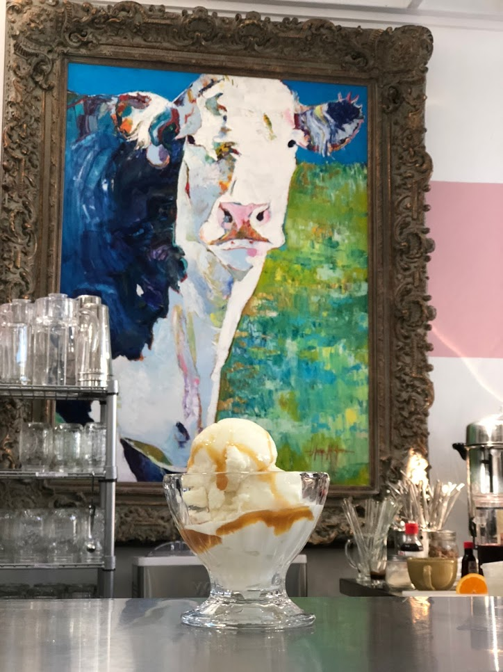 all recipes tasted and approved by our mascot, milkshake. - homemade ice cream. old fashioned floats. craft sodas